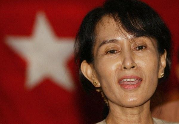 Laureatka pokojowego Nobla 1991 - Aung San Suu Kyi, przywódczyni opozycji birmańskiej /AFP