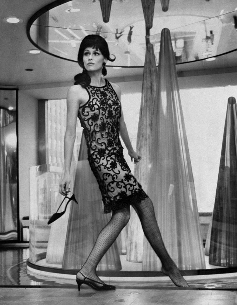 Lauren Hutton na zdjęciu w 1965 roku / New York Daily News Archive / Contributor /Getty Images