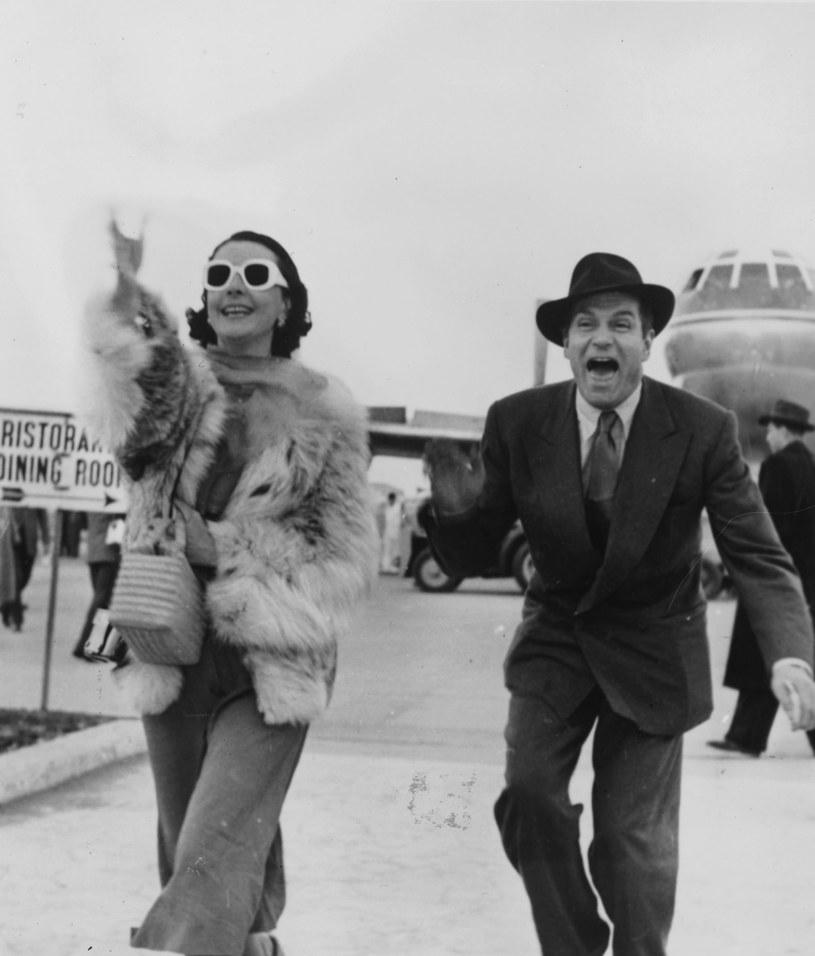 """Laurence Olivier, """"miłość jej życia"""", początkowo odwzajemniał jej uczucie. Po latach zostawił ją dla młodej aktorki teatralnej. Nigdy się nie otrząsnęła z tej zdrady. /Getty Images"""