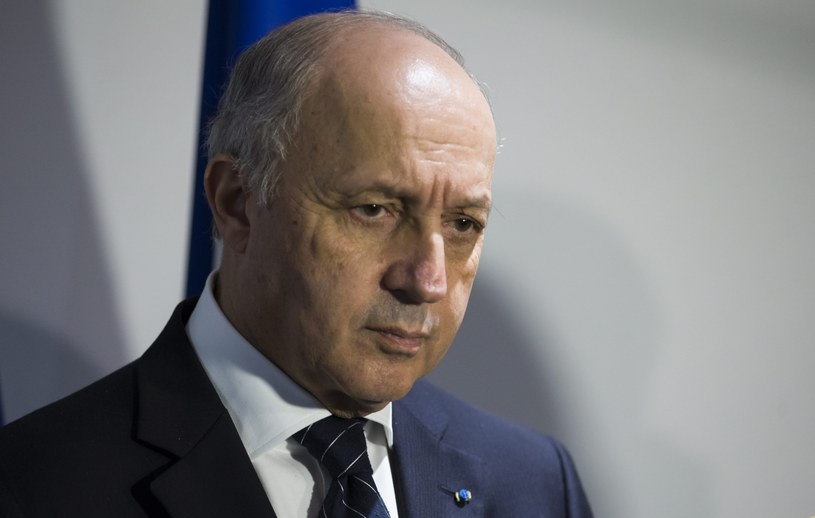 Laurent Fabius /Laurent Fabius /PAP/EPA