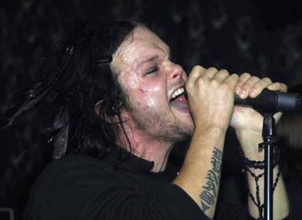 Lauri Ylönen (The Rasmus) jeszcze w czarnej wersji - fot. Rob Loud /Getty Images/Flash Press Media