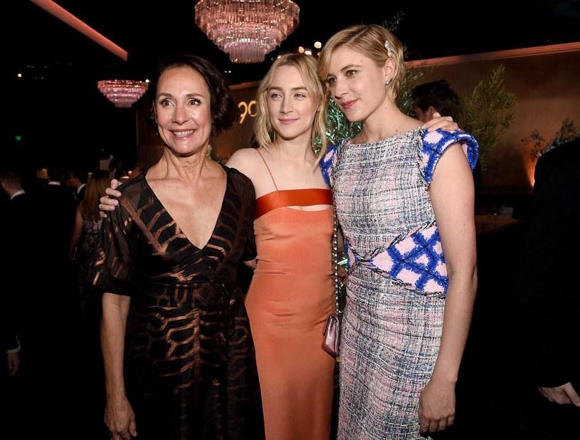 """Laurie Metcalf, Saoirse Ronan i Greta Gerwig - bohaterki filmu """"Lady Bird"""" /AFP"""