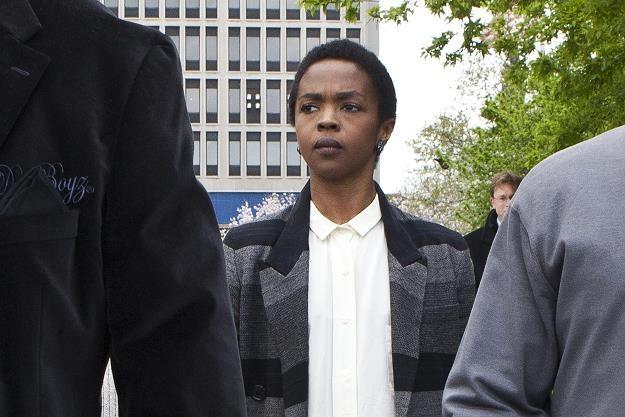 Lauryn Hill przed budynkiem sądu fot. Kena Betancur /Getty Images/Flash Press Media