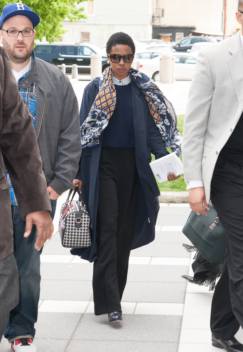 Lauryn Hill w drodze do sądu /Dave Kotinsky /Getty Images