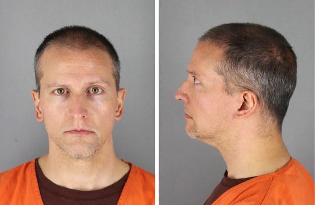 Ława przysięgłych uznała Dereka Chauvina za winnego //HENNEPIN COUNTY SHERIFF / HANDOUT /PAP/EPA