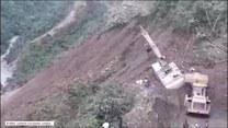 Lawina błotna porwała kilkanaście osób na górskiej drodze w Boliwii. Nie ma informacji o ofiarach śmiertelnych