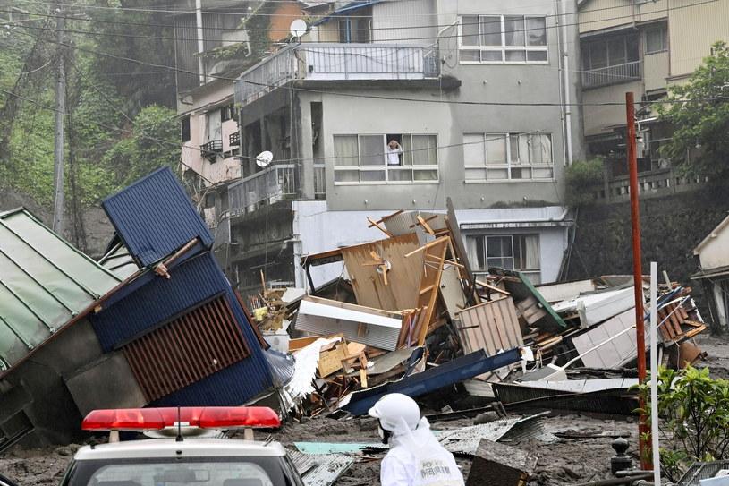 Alunecarea de noroi a ucis cel puțin 20 de persoane.  / kyodo / Reuters / forum