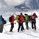 Lawina w Alpach. Pogoda opóźniła akcję ratunkową