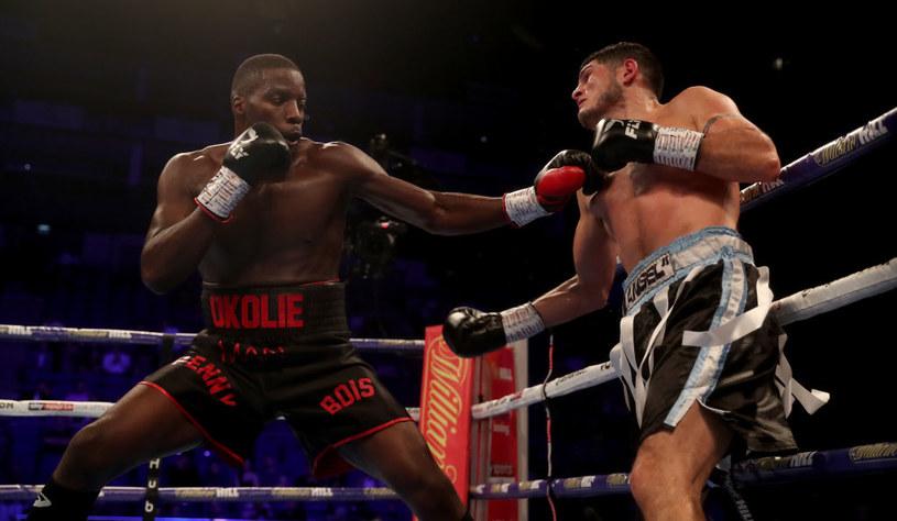 Lawrence Okolie (z lewej) /Getty Images