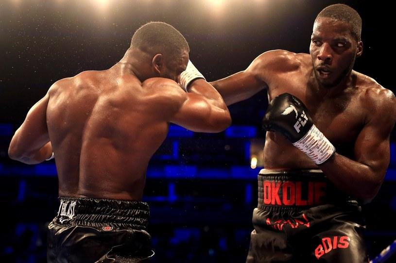Lawrence Okolie (z prawej) /Stephen Pond /Getty Images
