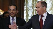 Ławrow przyjął szefa MSZ Kataru. Wezwał do podjęcia dialogu