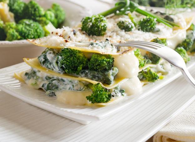 Lazania z brokułami /123RF/PICSEL