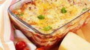 Lazania z mięsem mielonym i pomidorami