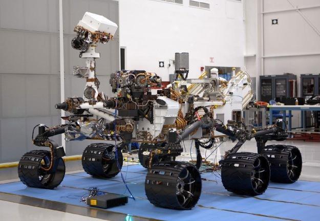 Łazik Curiosity w laboratorium NASA. Fot. NASA /materiały prasowe