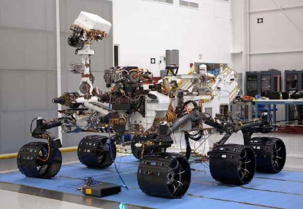 Łazik Curiosity /NASA