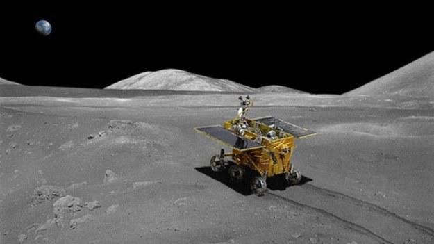 Łazik księżycowy misji Chang'e-3 ma trafić do celu w grudniu bieżącego roku /materiały prasowe
