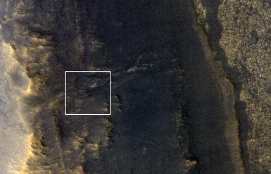 Łazik Opportunity na zdjęciu z 20 września. /NASA/JPL-Caltech/Univ. of Arizona /Materiały prasowe