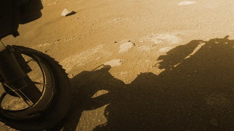 Łazik Perseverance pokonał już 70 metrów po powierzchni Marsa. Zobacz to na mapie /Geekweek