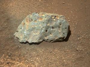 Łazik Perseverance znalazł dziwną skałę na Marsie