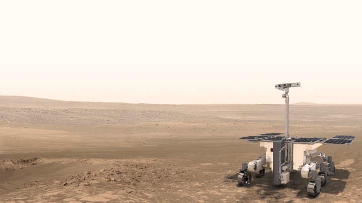 Łazik Rosalind Franklin nie poleci jeszcze na Marsa /materiały prasowe