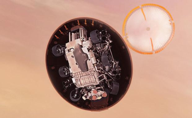 Łazik wybierze sobie, gdzie dokładnie wyląduje na Marsie