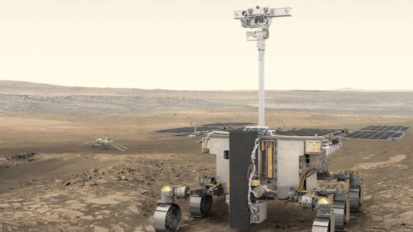 Łazik z misji ExoMars ma już swoją nazwę /materiały prasowe