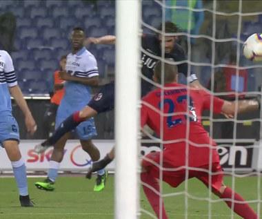 Lazio Rzym - Bologna 3-3 - skrót (ZDJĘCIA ELEVEN SPORTS). WIDEO
