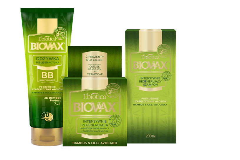 L'biotica Biovax Bambus & Olej Avocado /Styl.pl/materiały prasowe