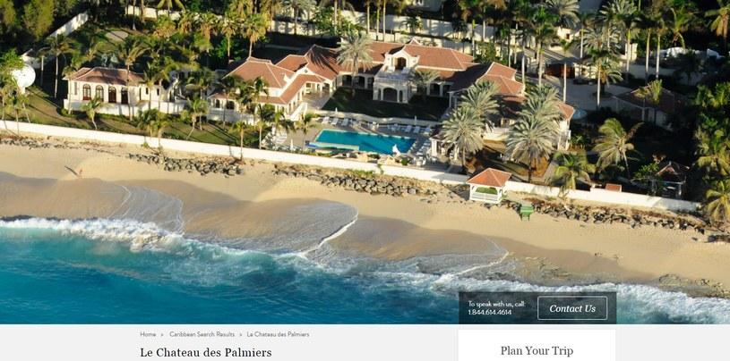 Le Chateau des Palmiers - Rezydencja Donalda Trumpa /luxuryretreats.com /