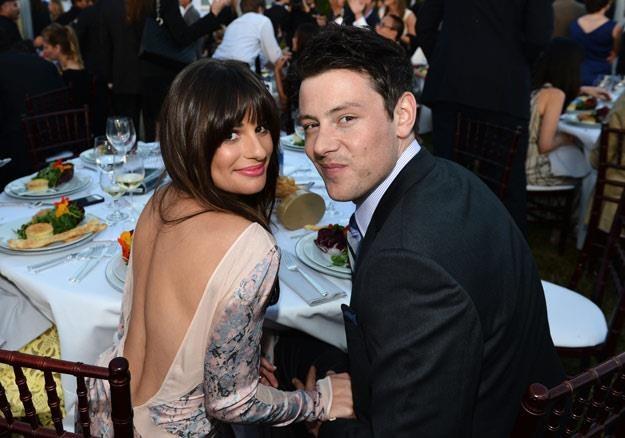 Lea Michele i Cory Monteith planowali ślub... (fot. Michael Buckner) /Getty Images/Flash Press Media