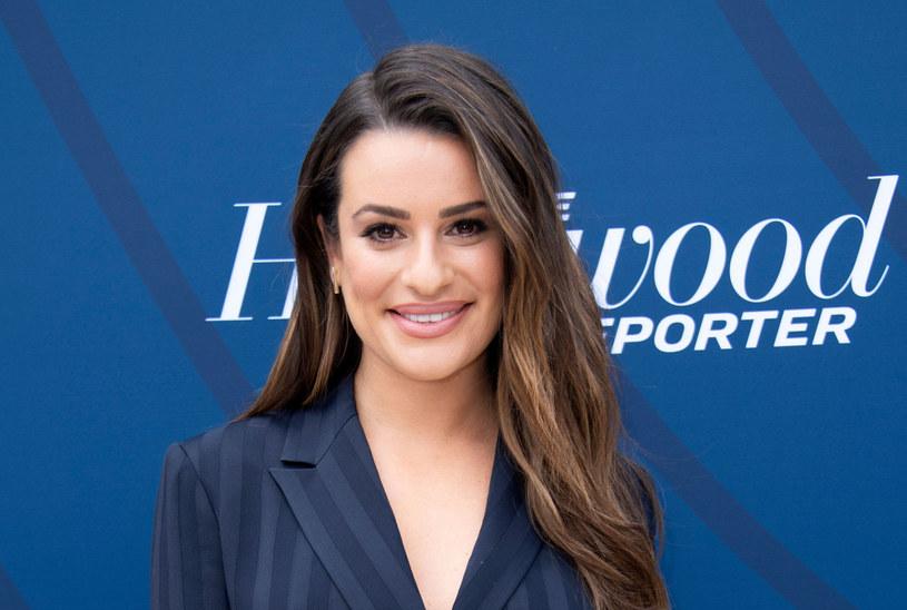 Lea Michele wkrótce urodzi swoje pierwsze dziecko /Valerie MACON / AFP /East News