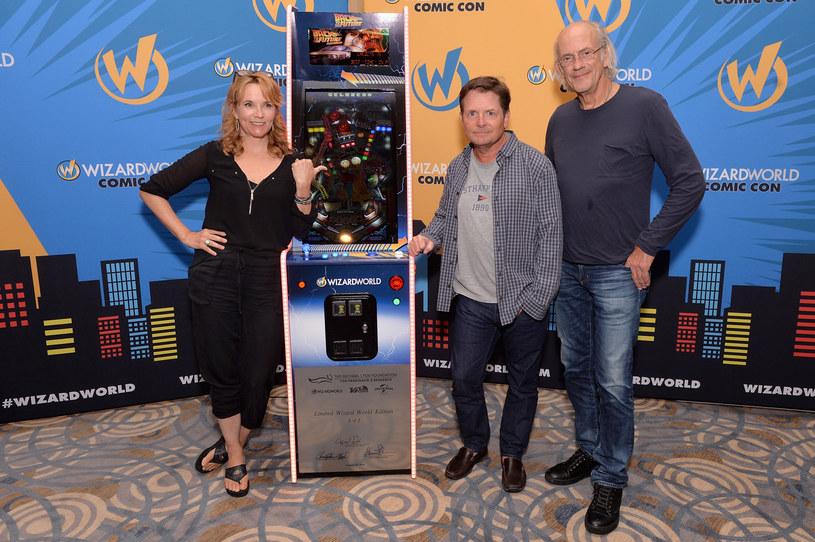 Lea Thompson, Actor Michael J. Fox, Christopher Lloyd /Daniel Boczarski /Getty Images