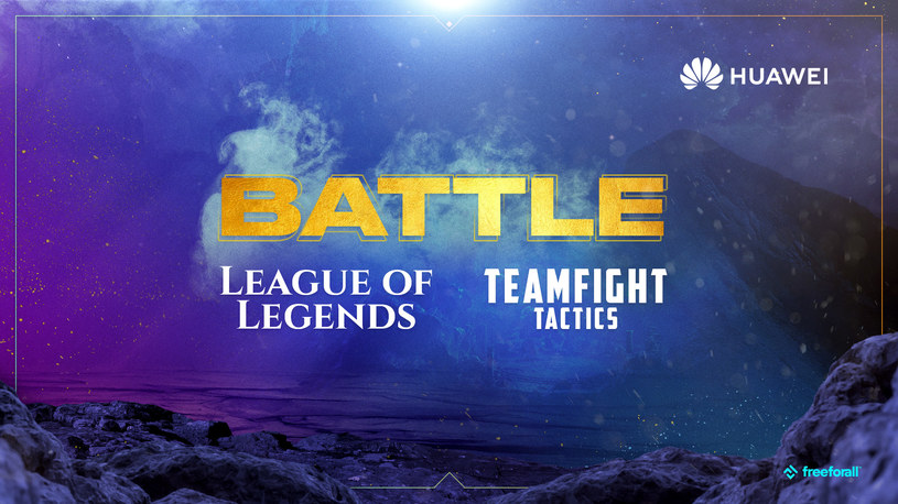 League of Legends Battle powered by Huawei /materiały prasowe