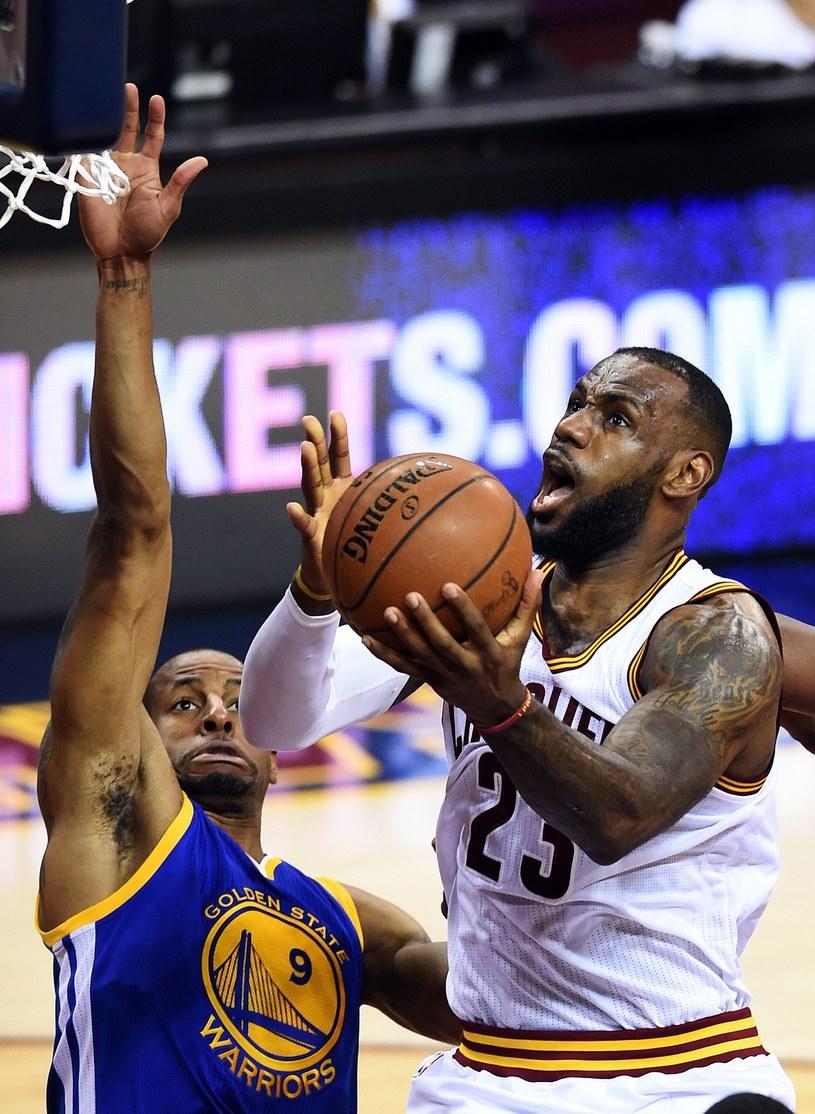 LeBron James, gwiazda Cleveland Cavaliers /AFP