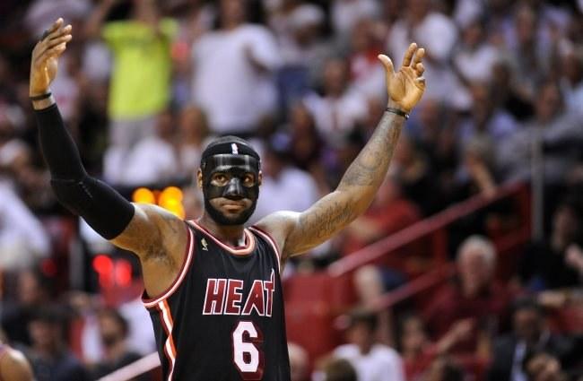 LeBron James, gwiazda Miami Heat /PAP/EPA