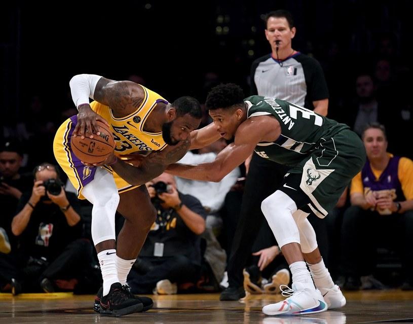 LeBron James i Giannis Antetokounmpo /AFP
