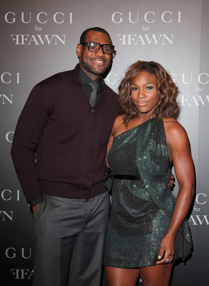 LeBron James i Serena Williams /Getty Images