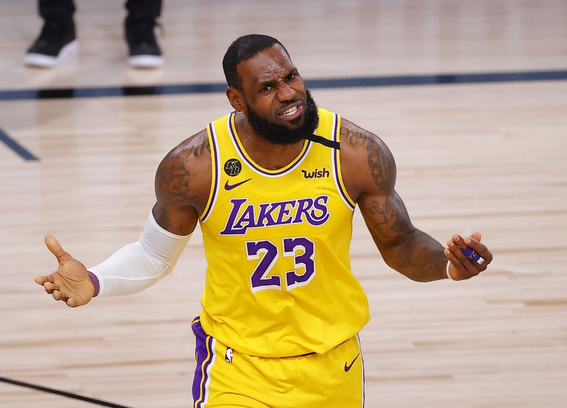 Lebron James, lider Lakers /AFP