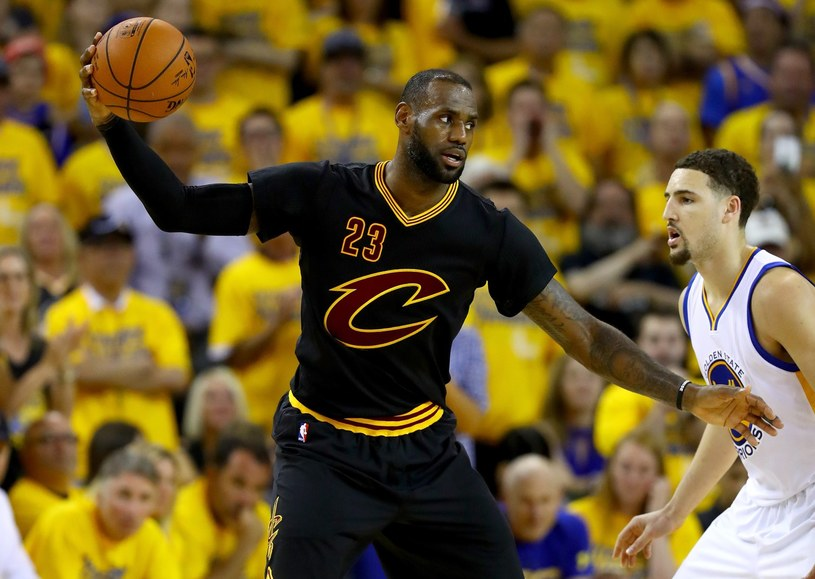 LeBron James - największa gwiazda Cleveland Cavaliers /AFP