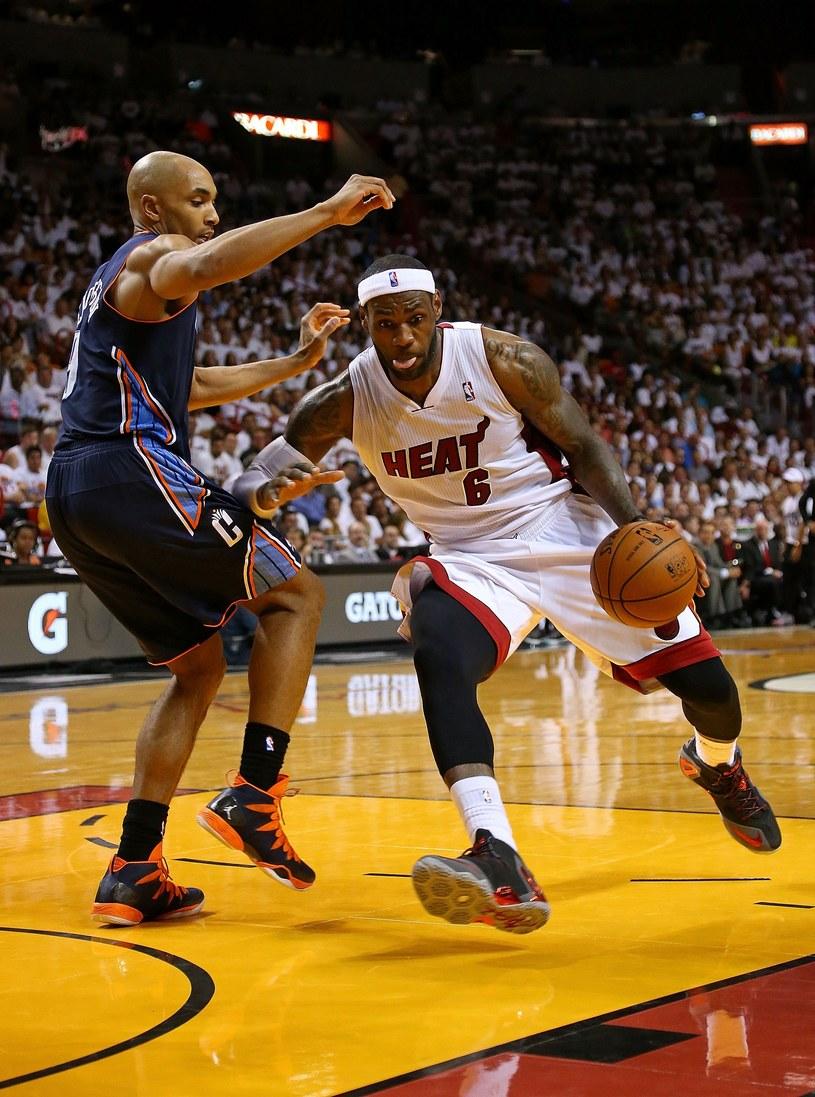 LeBron James z Miami Heat /AFP