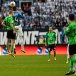 Lech - Górnik Łęczna 0-0. Byli piłkarze Lecha popsuli święto w Poznaniu