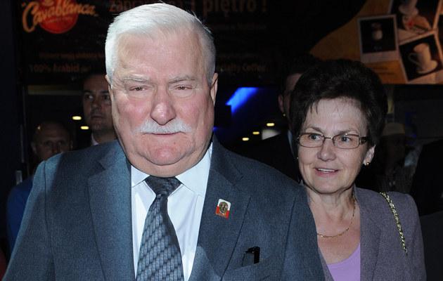 Lech i Danuta Wałęsowie /Andras Szilagyi /MWMedia