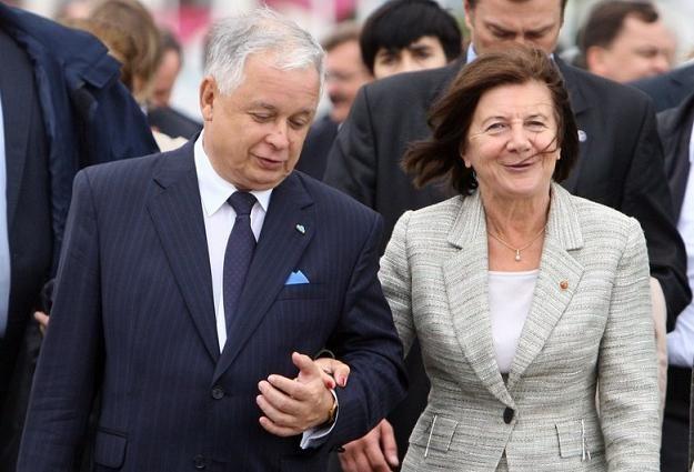 Lech i Maria Kaczyńscy, fot. Ł. Ostalski /Reporter