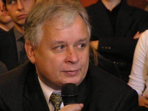 Lech Kaczyński zaprezentował się jako zwolennik bezpłatnych studiów /INTERIA.PL