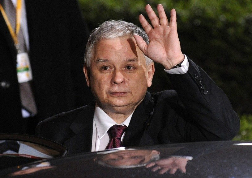 Lech Kaczyński, zdjęcie z 2009 r. /AFP