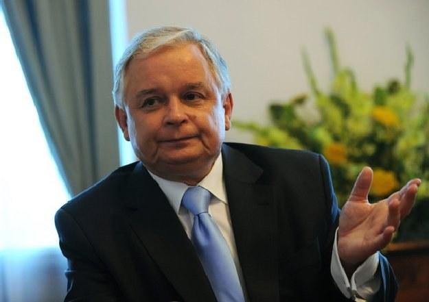 Lech Kaczyński /AFP