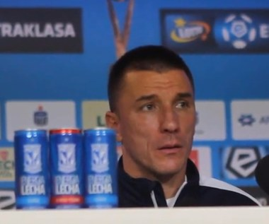 Lech - Korona. Ivan Djurdjević przed meczem. Wideo