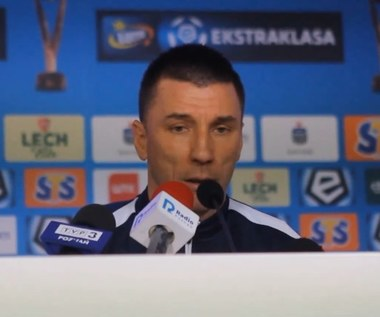 Lech - Lechia. Ivan Djurdjević: Nie zesłałem piłkarzy do rezerw. Wideo