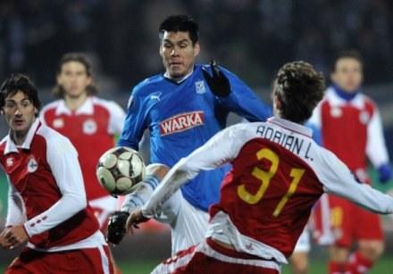 Lech nie zawodzi w lidze i Pucharze UEFA /AFP