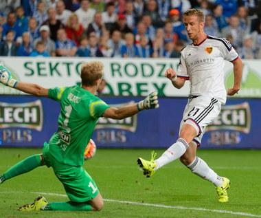 Lech Poznań - FC Basel 1-3 w meczu 3. rundy eliminacji Ligi Mistrzów